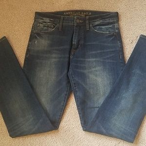 MENS AMERICAN EAGLE JEANS 30 X 34